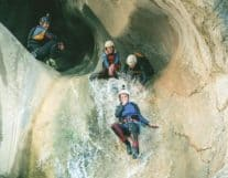 Canyoning Experience in Chli chliere