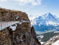 View of Grindelwald Switzerland