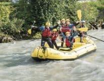 Family River Rafting in Interlaken