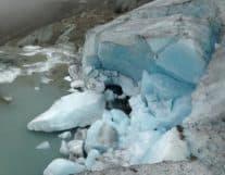 Glacier in Interlaken Switzerland