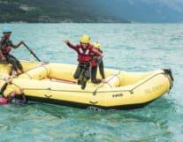 River Rafting in Interlaken Lake