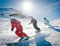 Guys at Ski Lesson in Interlaken