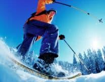 Winter outdoor activity in Interlaken