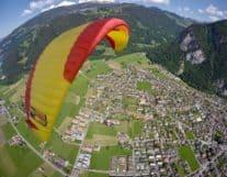 Beautiful view of Interlaken in Switzerland