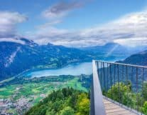View from the Harder Kulm of Interlaken