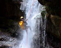 Waterfall Rapel Summer Acitivities in Interlaken