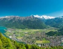 Breathtaking Scenic View of Interlaken