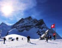 Jungfrau region ski resort