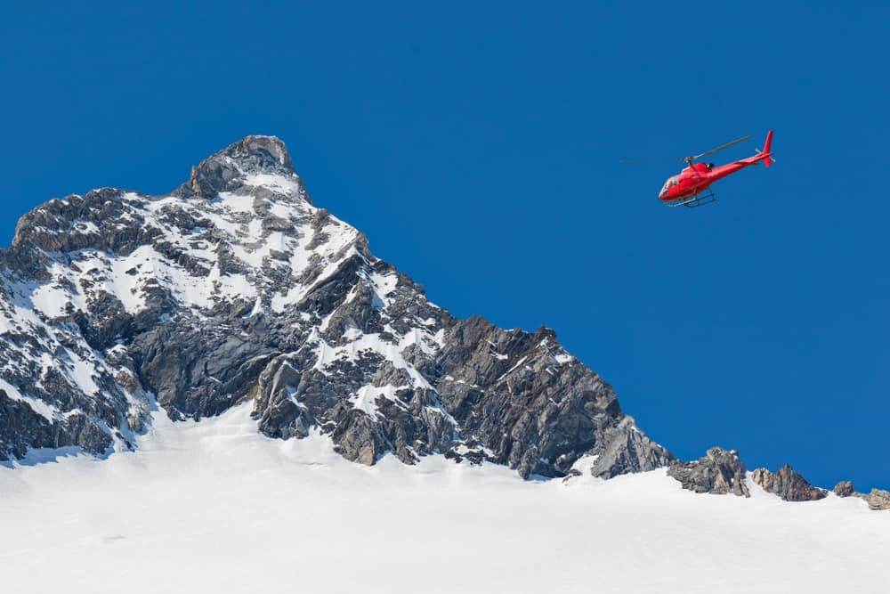 Helicopter Skydive over Swiss Alps