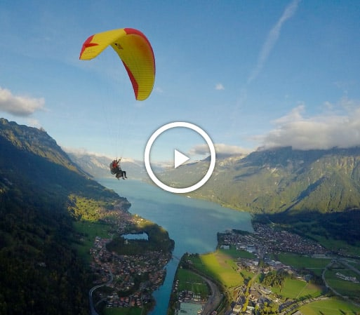 Paragliding Interlaken video