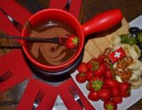 Fondue Chocolate made in Switzerland