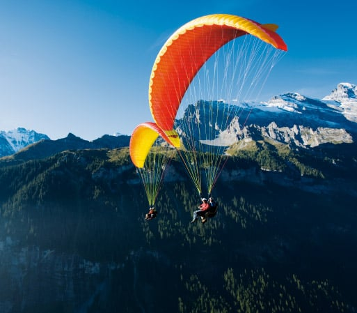 Air activities in Switzerland