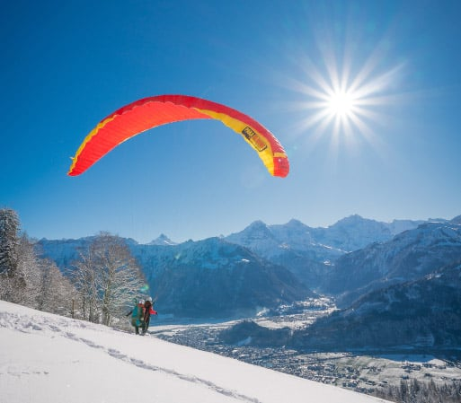 Winter activities in Switzerland