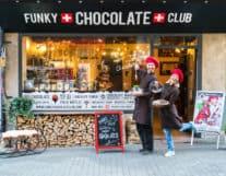 Funky Chocolate Club Shop Interlaken Switzerland